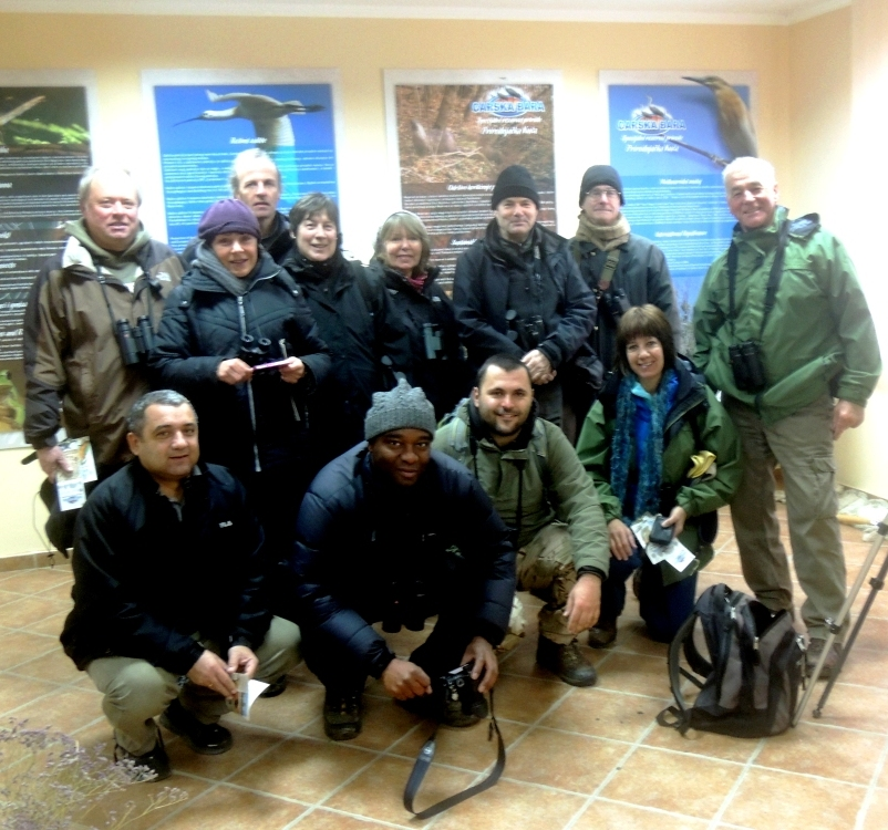 Group visit to a wildlife visitor centre.JPG